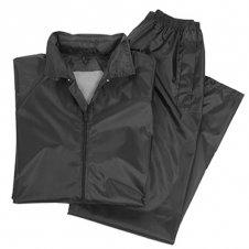 oblek do deště černý bunda akalhoty do deště lehké