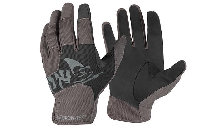 rukavice taktické HELIKON All Round Fit black/shadow střílet vrukavicích vždy zhoršuje pocit zdržení zbraně aobvykle také výsledky. To je daň za to
