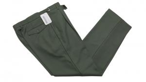 kalhoty vz.97 vycházkové zelené 182/82     kalhoty vzor 97 vycházkové zelené    originál používaný AČR    materiál: 45% vlna