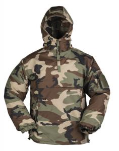 bunda Combat anorak zimní woodland     větruvzdorná bunda